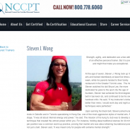 Proud to be featured by the National Council of Certified Personal Trainers